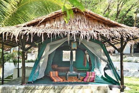 Lagoon Family Tent Bungalow with Patio
