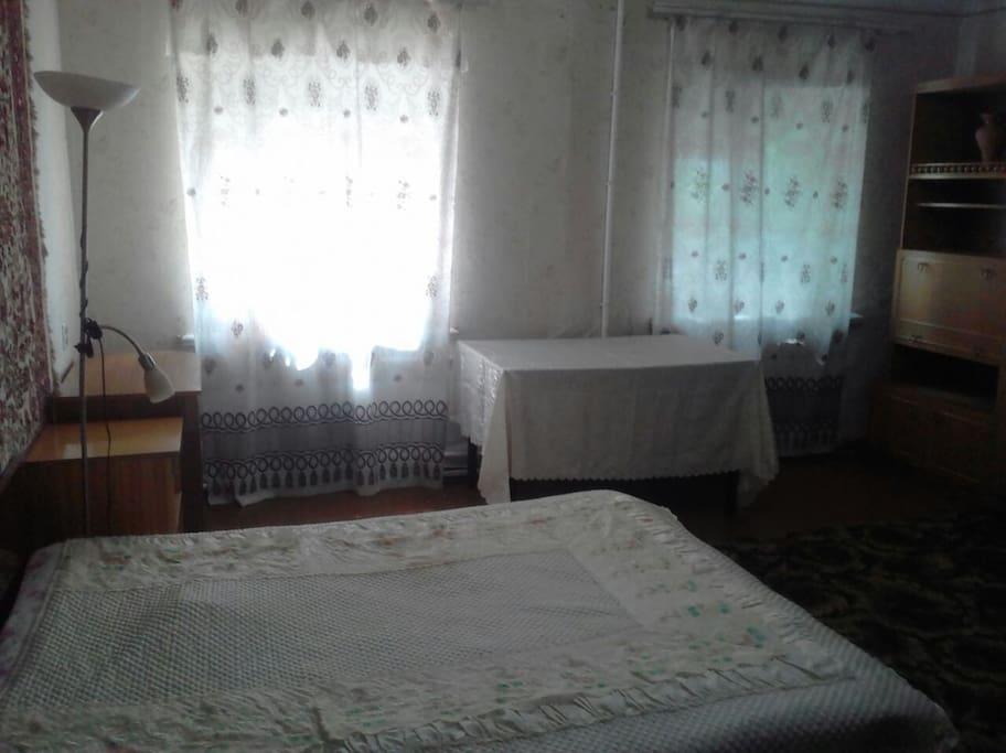 Спальня 25 кв м