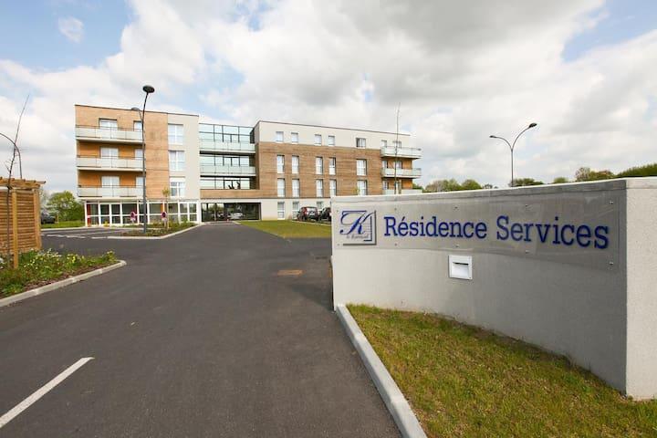 appart'hotel T2 dans résidence services - Vire - Apartemen