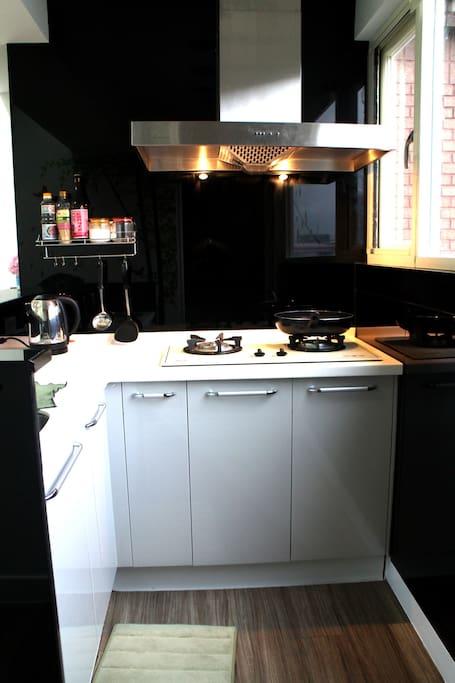 簡易廚房 可以開伙