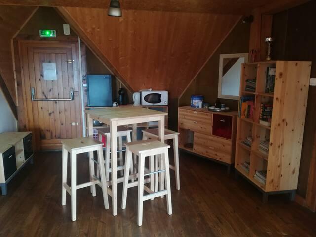 2 Chambres dans Chalet à la Montagne été/hiver