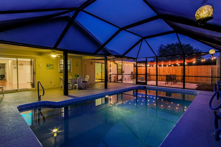 Pool Paradise! Heated with Private Patio & Yard!