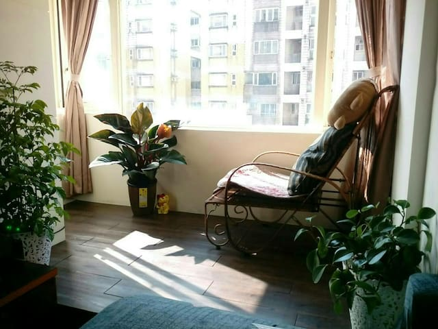 A cosy double room 溫馨套房(附私人衛浴)~ 八斗子潮境九份平溪象鼻岩~