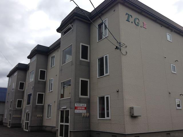 当別町のお試し暮らしアパートTGホームⅡ202号室