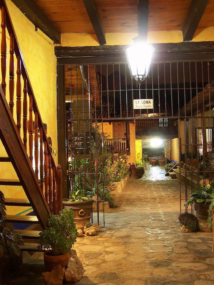 Habitación Sencilla 2 Hotel Posada La Loma