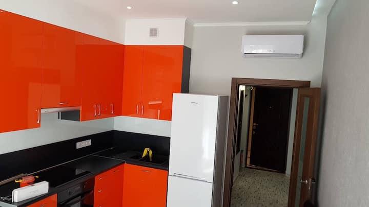 Cozy apartment near the Black Sea