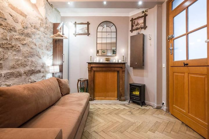 Charming studio - Heart of Paris-north of Marais