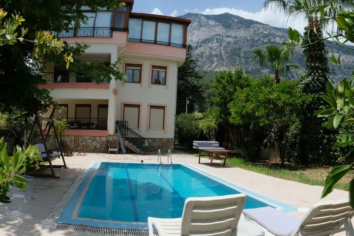 Müstakil villa, Holiday House with a Private Pool