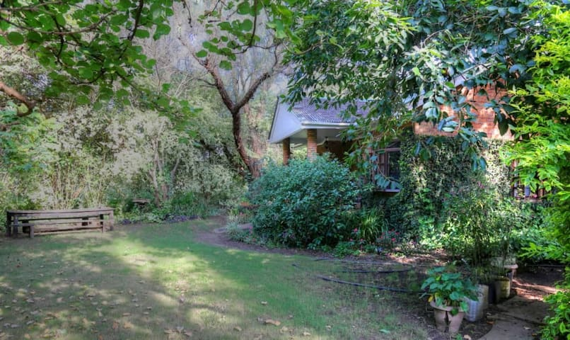 Naturally your home away from home with private garden