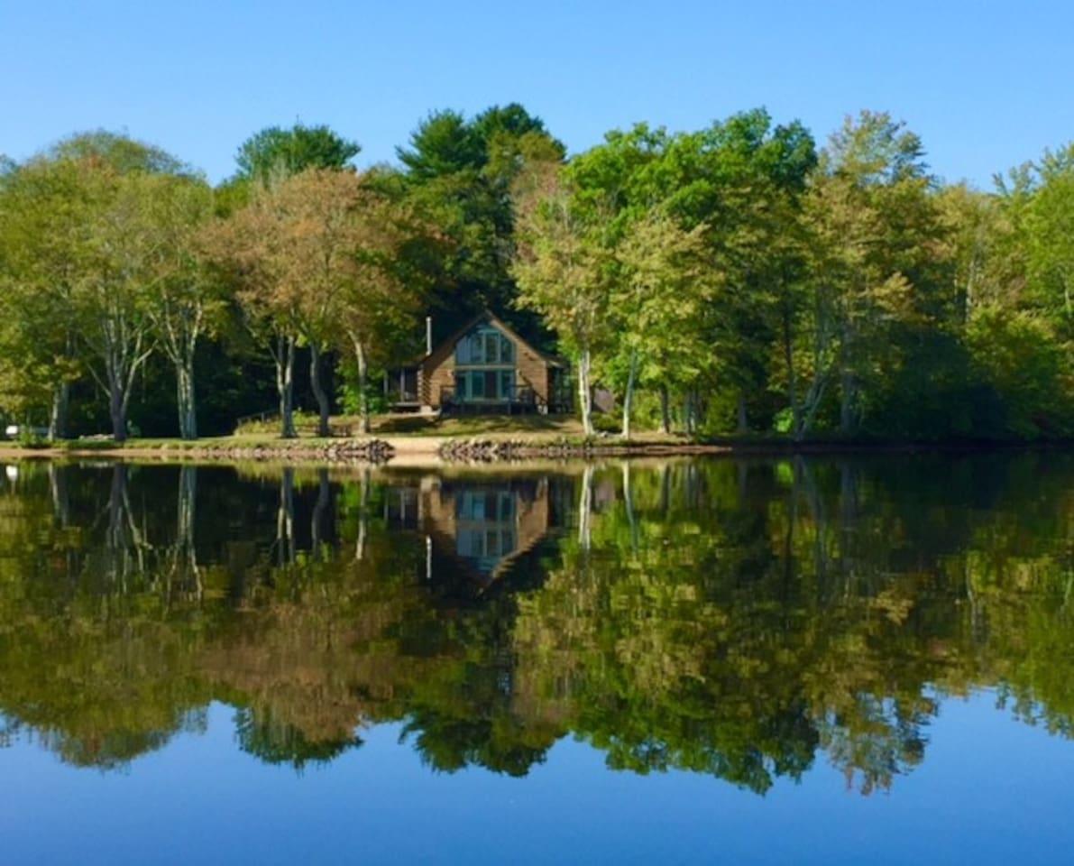 The Cabin on Pachaug Pond