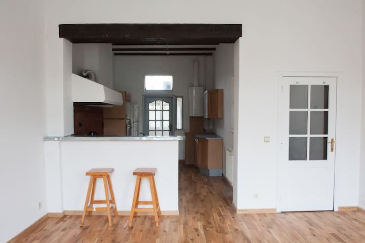 APPARTEMENT DUPLEX PROCHE DE TOUT - Saint-Gilles - Apartemen