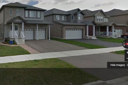 Cozy 1 bedroom(+2 beds)  in suburbia - Kitchener - House