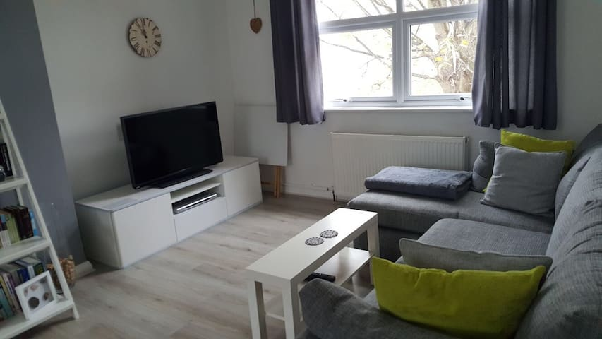 Spacious double room in quiet flat in Bromley