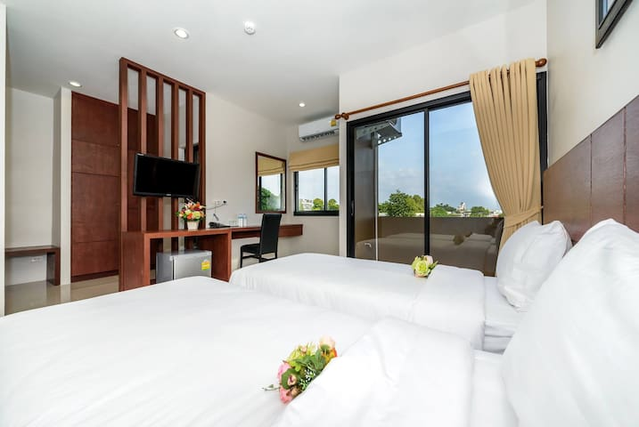 Twin bed apartment in Phuket town - Phuket - Pis
