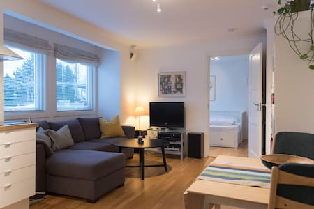 Quiet apartment 20. min from Oslo center