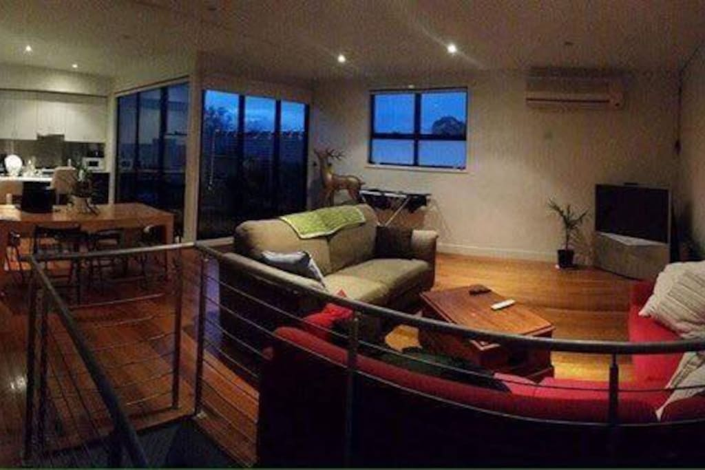 Lounge and upstairs area