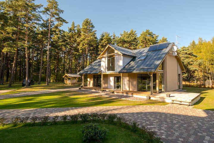 Luxury Villa on the cost of the Baltic Sea