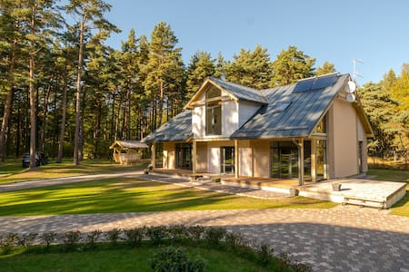 Villa on the cost of the Baltic Sea - Nīcas district - Huis