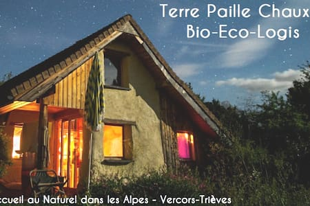 Terre Paille Chaux, Bio-Eco-Lodge in French Alps