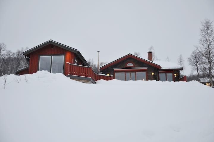 Exklusivt timmerhus i Klimpfjäll