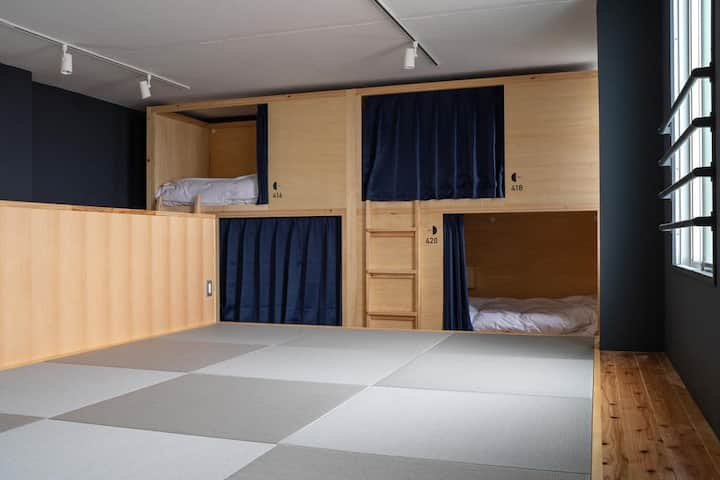 En Hostel & Bar Bunk Bed in Female Dormitory Room