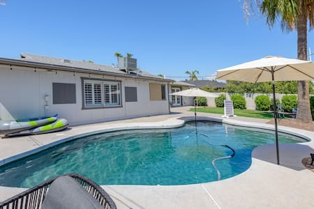 ⚡Vernon House- Ranch Home W/ Pool Near Old Town!✨