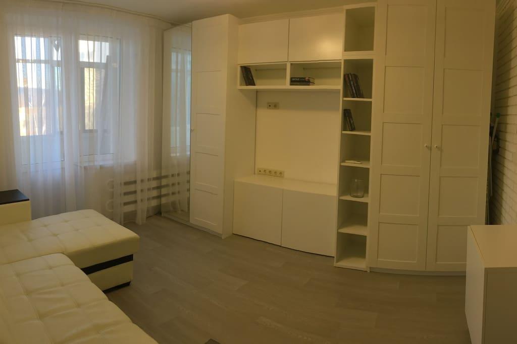 Гостевая комната побольше.