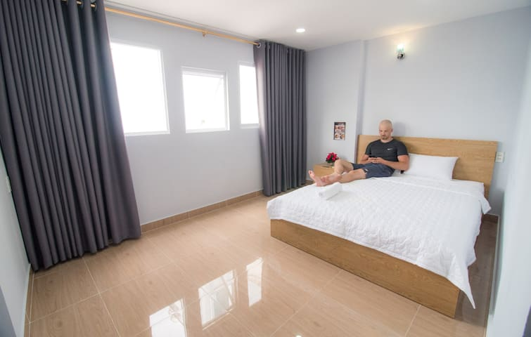 Beautiful Deluxe Double Room with Balcony