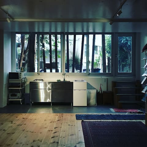 On-Suit 2Rooms +kitchen 180m JR Stn - Ōta-ku
