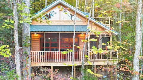KY Breeze PRIVATE Treehouse ★  Romantic RRG Forest