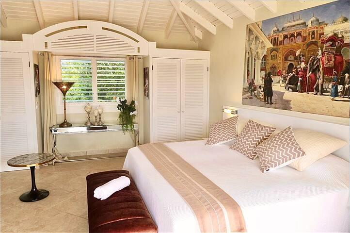 Un lit double ou deux lits simples à volonté