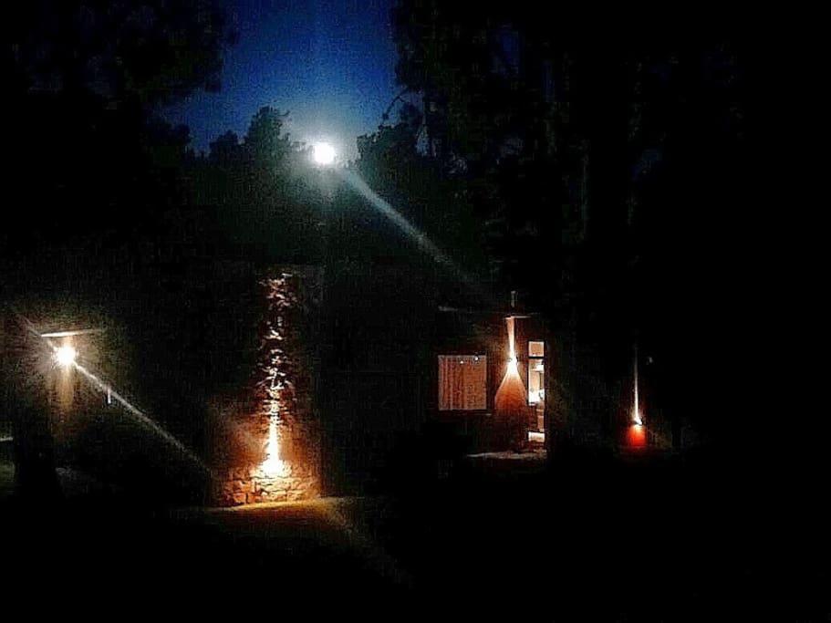 Luna llena en la casa...