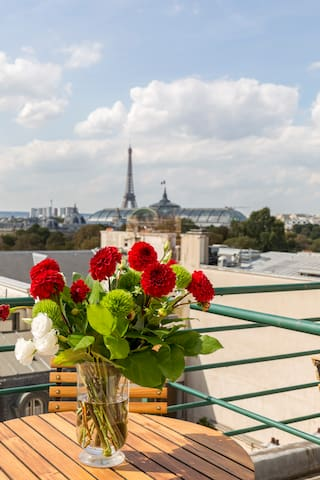 Castiglione Hotel 4* - Room with Eiffel Tower view