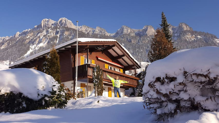 In the❤of Switzerland's Swiss Alps - Flühli, Luzern, CH - Apartamento