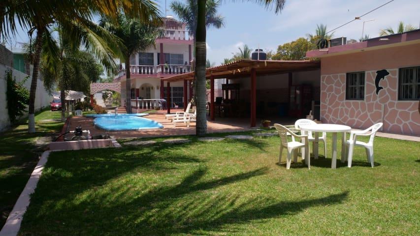 House by the beach shore - Matanchen