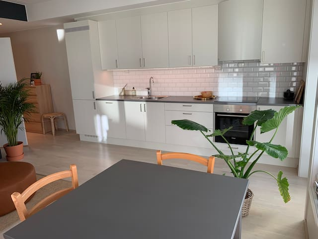 Brand new apartment. Close to AquaNor by car/bus