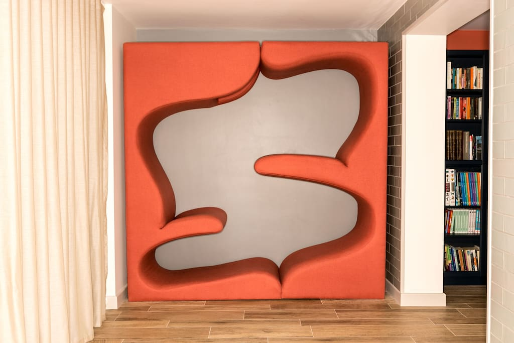 Fun vertical sofa for kids of all ages