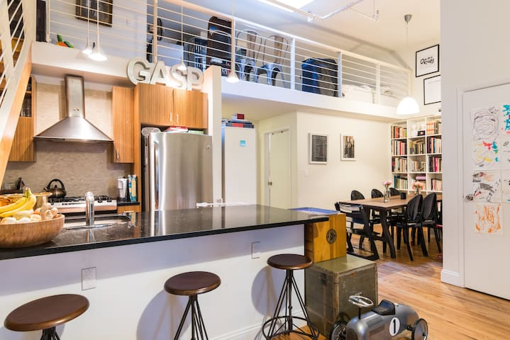Great loft for a couple or family
