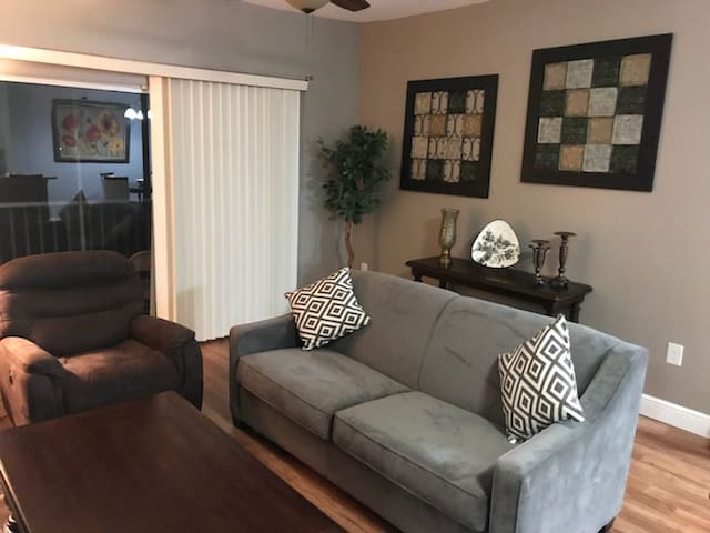 Lakeview Apartment 1BR/1BA 24/7 Check-in Tampa Bay