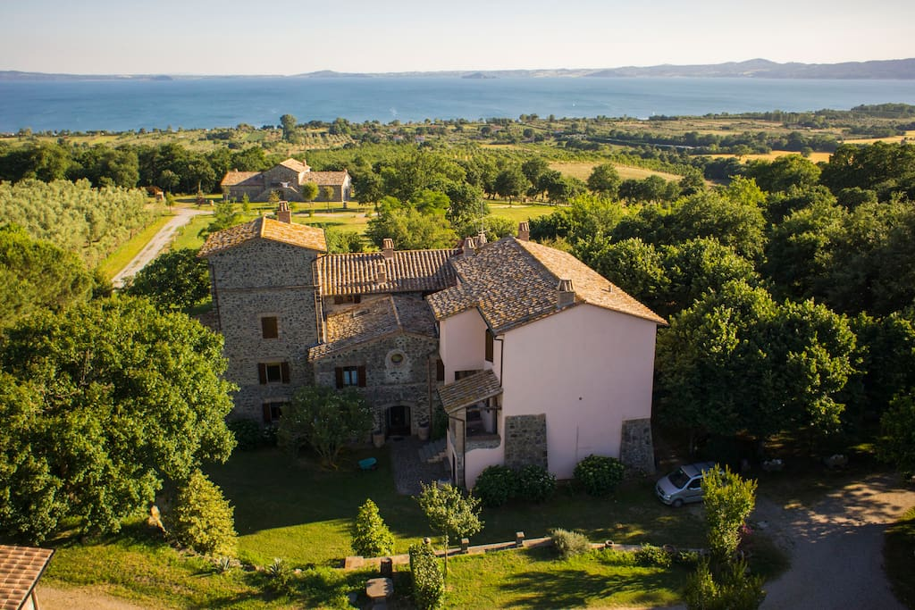 Agriturismo  External View - Old house
