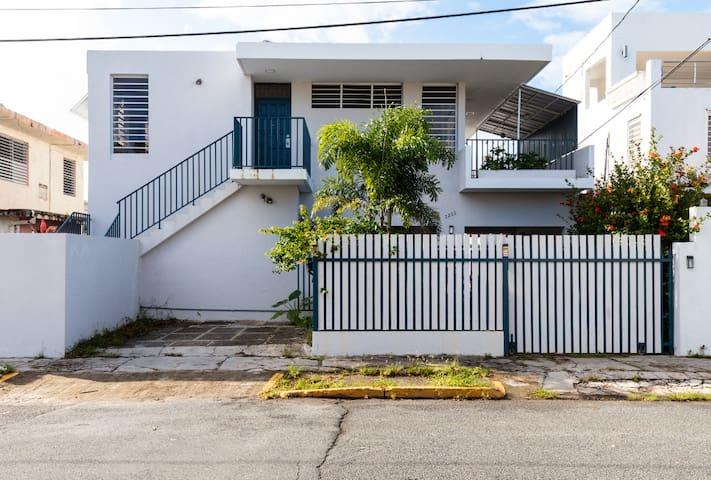 Spacious beach house steps from the ocean!