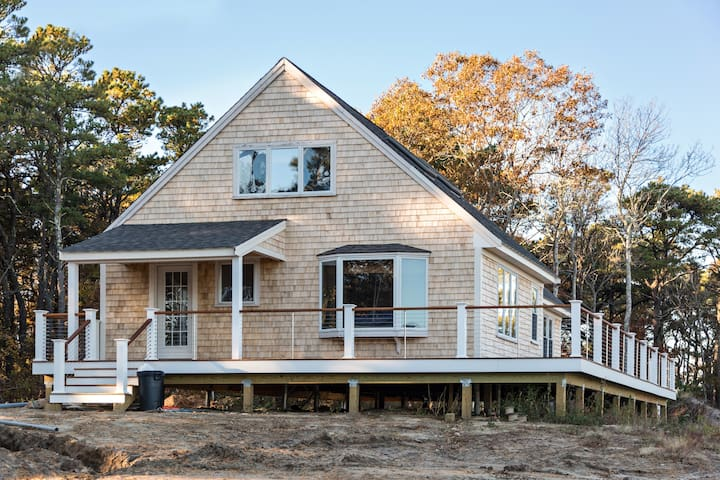 Adorable Private Beach House on Organic Tree Farm - Sandwich - Haus