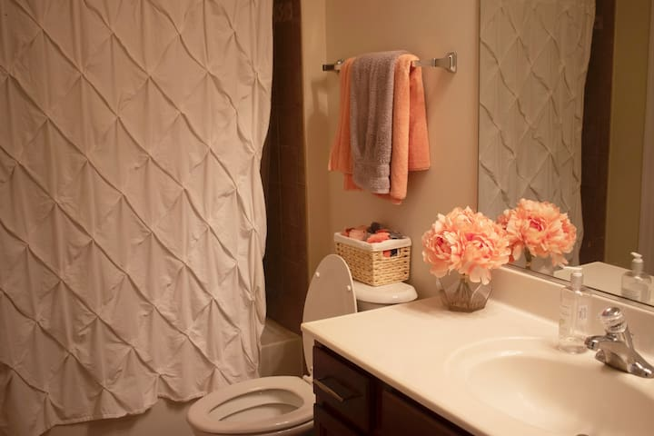 Quaint room in modern home