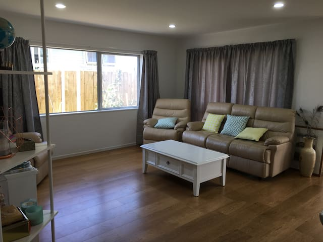Quiet upper level bedroom, brand new