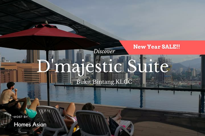 D45 Infinity Pool Executive Suite, Bukit Bintang