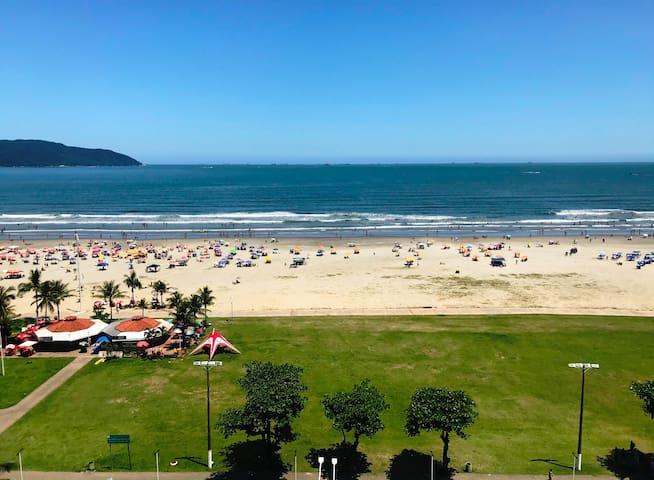 Apartamento avenida da praia Itararé
