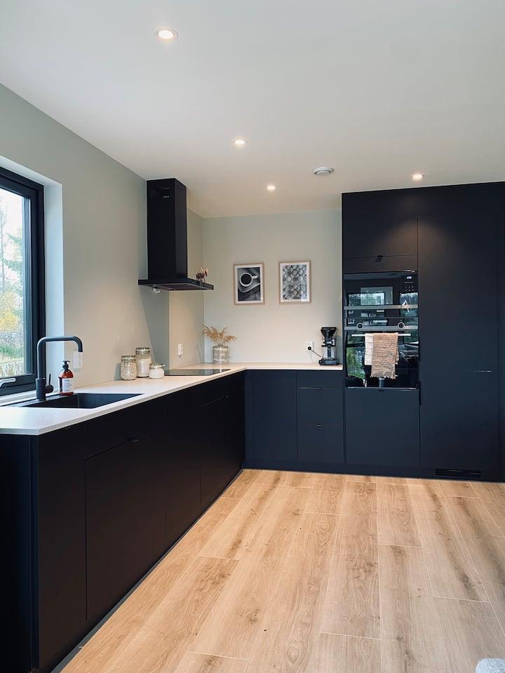 Nybygd Moderne Hjem
