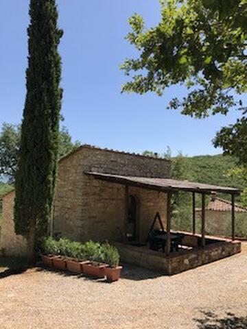 Il Cipresso, cozy place in Chianti area.