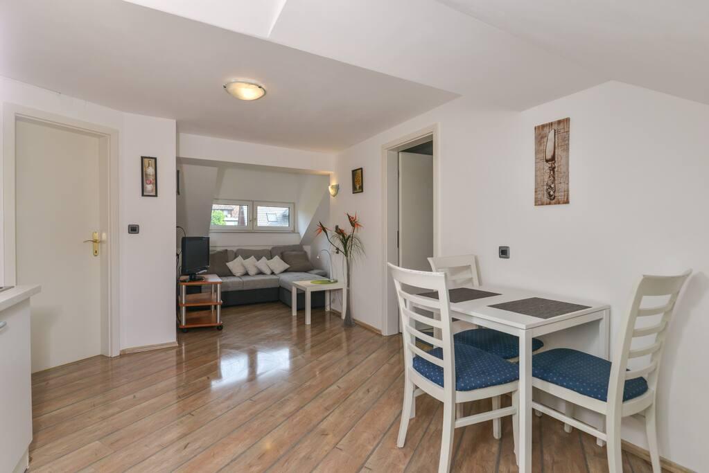 Jezerci Apartments 1 - living area