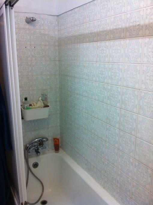 Uno de los baños.